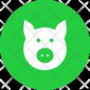 Pork Pig Livestock Icon