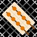 Pork Ball Stick Icon