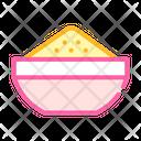 Cool Porridge Color Icon