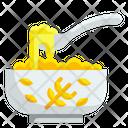 Porridge Spoon Mush Icon