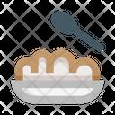 Porridge Nutrition Healthy Icon