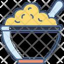 Porridge Bowl Indian Icon