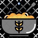 Porridge Patisserie Cereal Icon