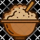Porridge Mush Jar Icon