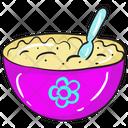 Porridge Bowl Diet Bowl Cereal Bowl Icon