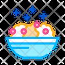 Porridge Dish Lifestyle Icon
