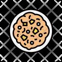Poridge Oatmeal Bowl Icon