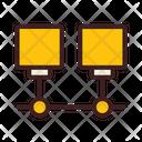 Port Connection Lan Netwrk Icon