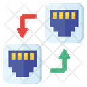 Serial Connectors Port Icon
