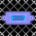 Computer Hardware Port Icon