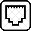 Port Connection Connector Icon