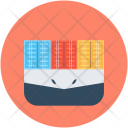 Port Seaport Containers Icon