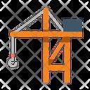 Port Crane Construction Icon
