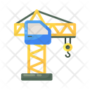 Port Crane Industrial Crane Logistics Crane Icon
