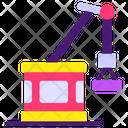 Port Crane Industrial Crane Construction Crane Icon