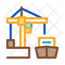 Port Crane Ship Icon