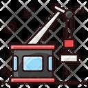 Port Crane Port Carne Industrial Crane Icon