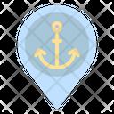 Port Harbor Pin Icon