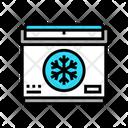 Portable Refrigerator Tropical Icon