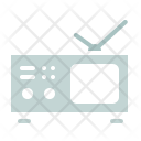 Portable Television Tv Icon