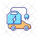Portable Charger Installation Icon