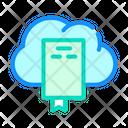 Document Cloud Storage Icon