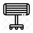 Portable Heating Device Icon