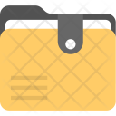 Portable Document Folder Icon