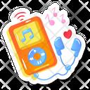 Portable Music Device Icon
