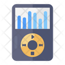 Portable Music Player Music Device Audio Music Icon