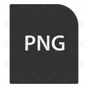 Portable Network Graphic File Extension Icon