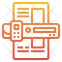 Portable Scaner Scan Technology Icon