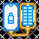 Portable Solar Charger Icon