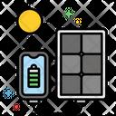 Mportable Solar Panel Portable Solar Panel Solar Panel Icon
