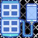 Mportable Solar Panel Icon