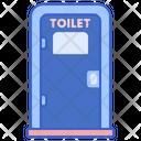 Portable Toilet Icon