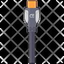 Portable Usb Mini Usb Data Cable Icon