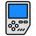 Portable Video Game Brick Game Handheld Game Icon