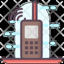Portable Walkie Talkie Icon