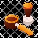 Portafilter Tamper Coffee Icon