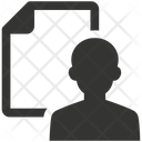 Document Portfolio Profile Icon