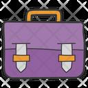 Portfolio Briefcase Office Bag Icon