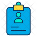 Portfolio Cv Resume Icon