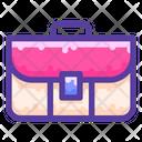 Portfolio Suitcase Bag Icon