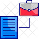 Portfoliom Portfolio Business Icon