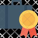 Portfolio Briefcase Badge Icon