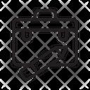 Portfolio Work Briefcase Icon