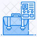 Portfolio Attache Case Carry Case Icon