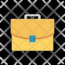 Business Portfolio Bag Icon