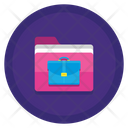Portfolio Bag Document Icon
